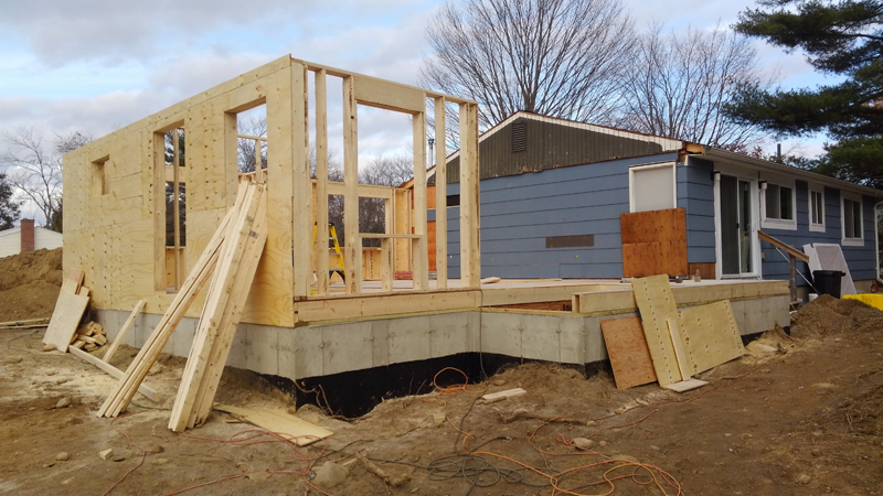 Home Addition – Framing