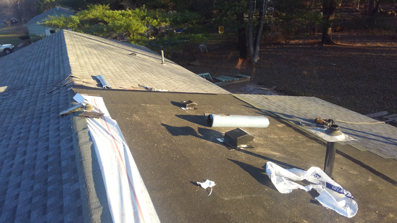 Home Addition –  Roofing