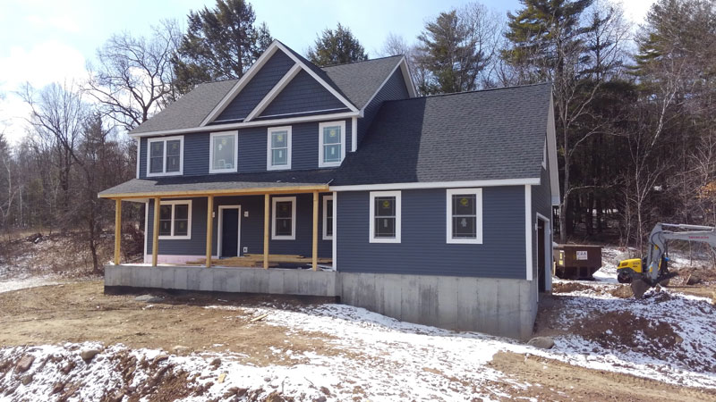 Home Construction - Front Right