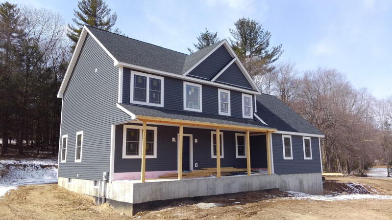 Home Construction - Front Left