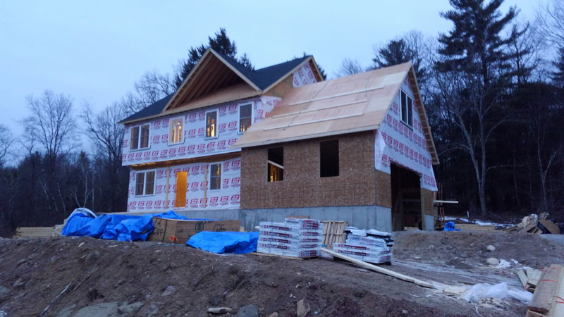 Home Construction - Sheathing