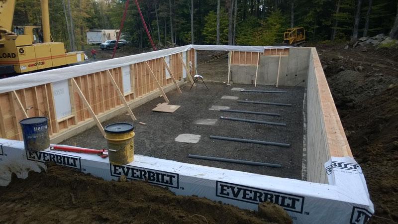 Modular Home - Foundation Poured